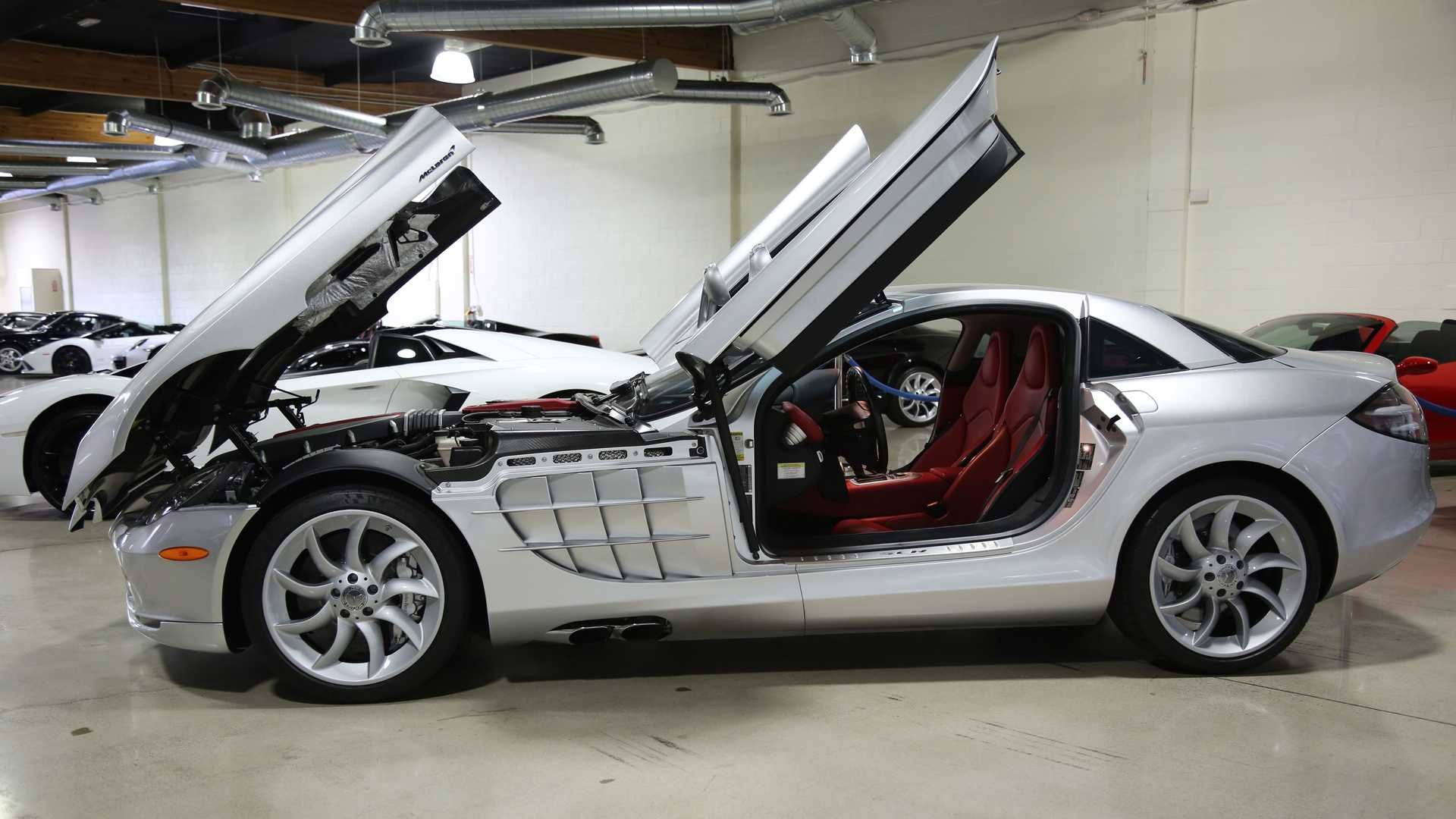 "[""Touch The Stars In A 2005 Mercedes-Benz SLR McLaren""]"