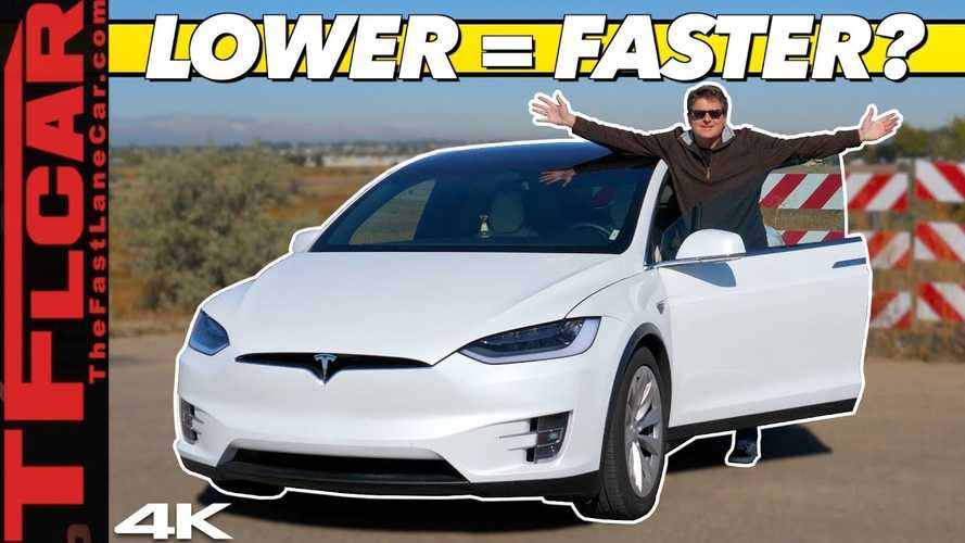 The Reason This Tesla Model X Was Slow Is An Aerodynamic's Class