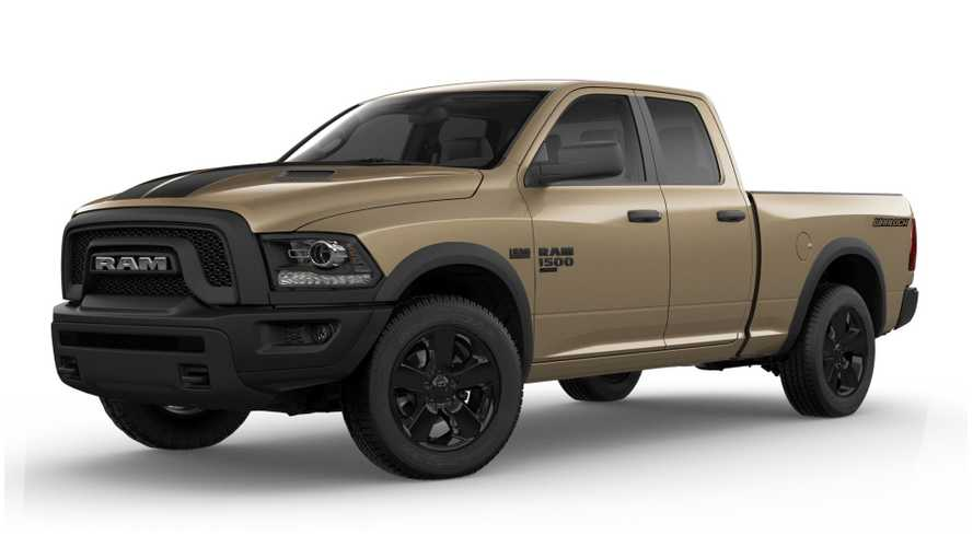 Ram 1500 Classic Warlock Gets Desert-Ready Mojave Sand Package