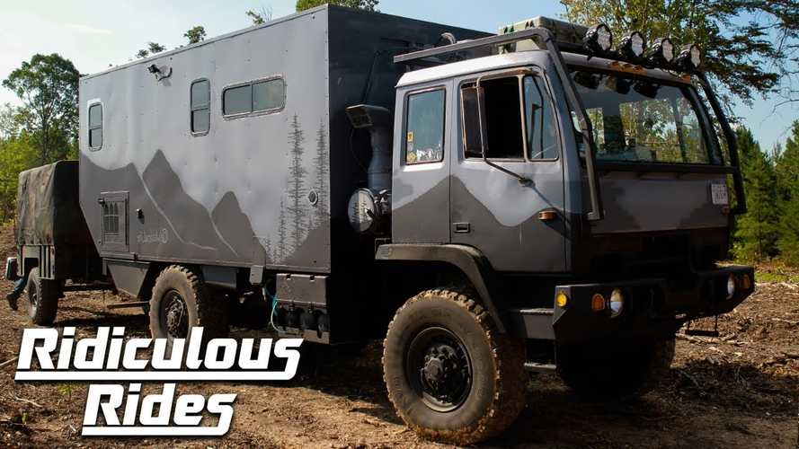Retired Military Truck Lives A Second Life As Amazing Motorhome