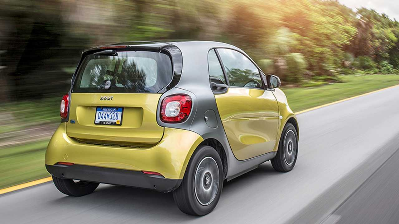 Smart EQ Fortwo Coupé - $23,900