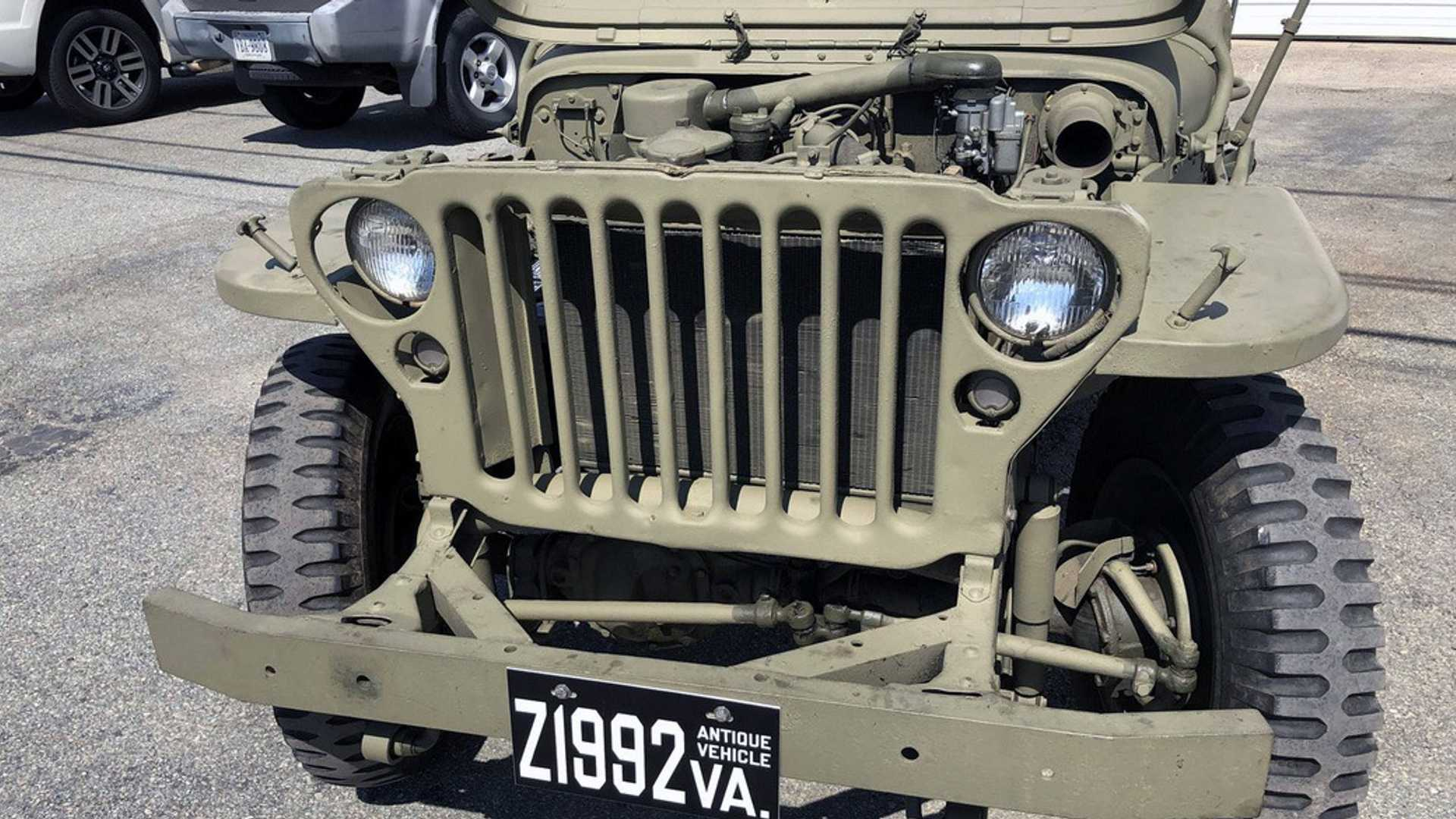 "[""Original 1945 Willys MB Up For Grabs""]"