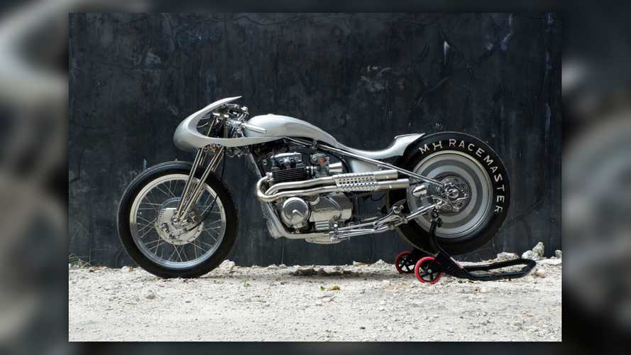 This Gorgeous Honda CB650 Drag Bike Is A Real Pitbull