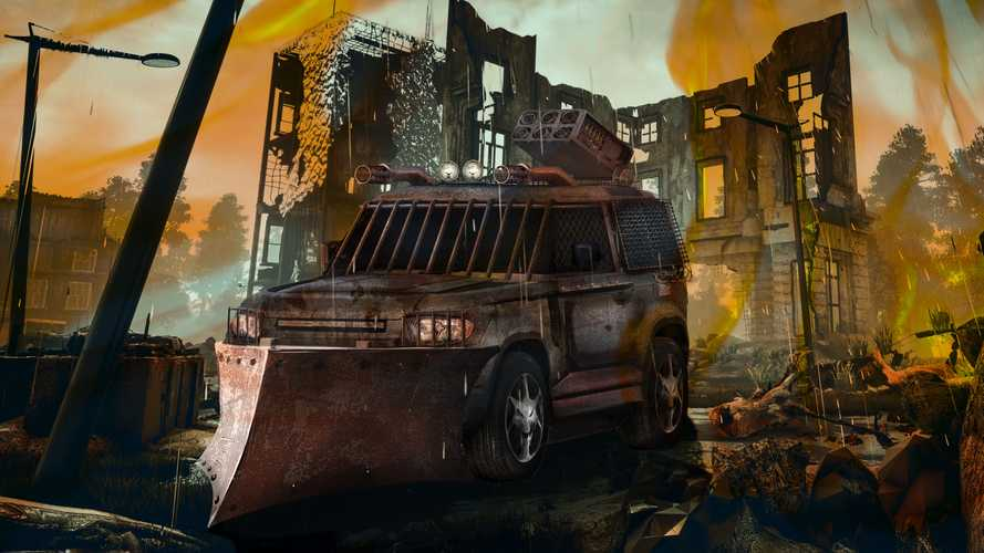 Bonkers Zombie-Killing Apocalypse SUV Isn't Real, But We Wish It Was