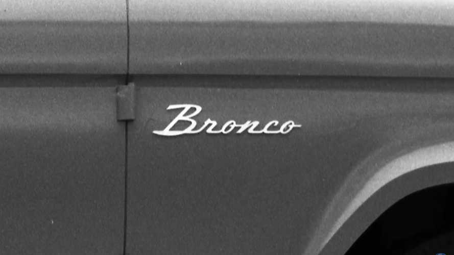 Ford Bronco Teaser Video