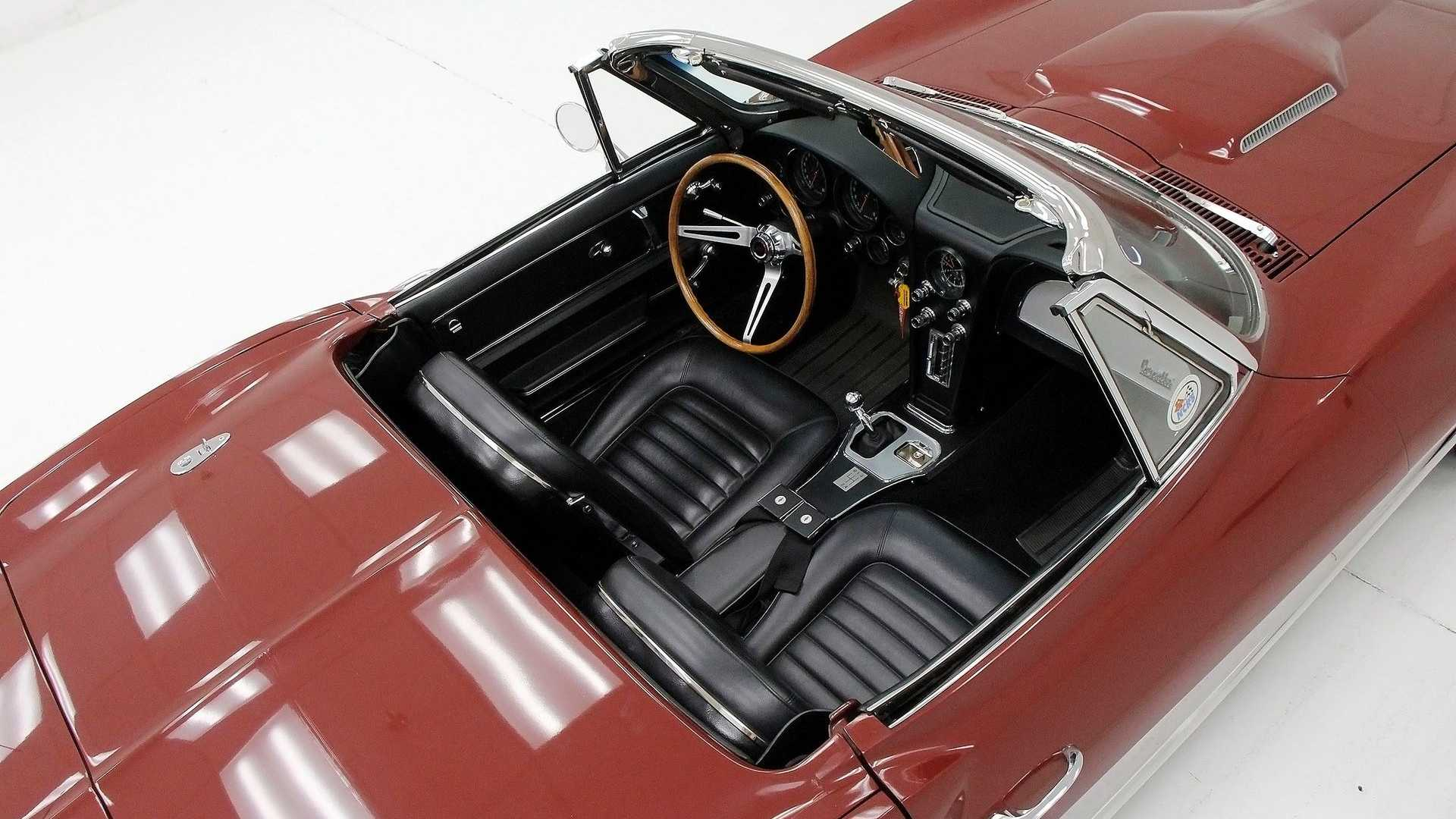 """[""""Drop The Top In This Restored 1966 Chevy Corvette Roadster""""]"""