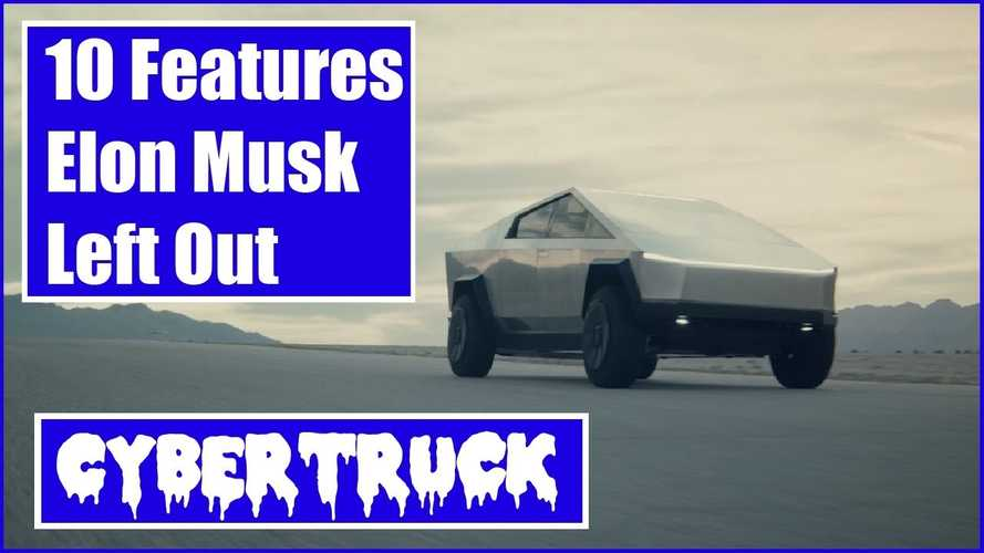 12 Tesla Cybertruck features Musk failed to mention during reveal