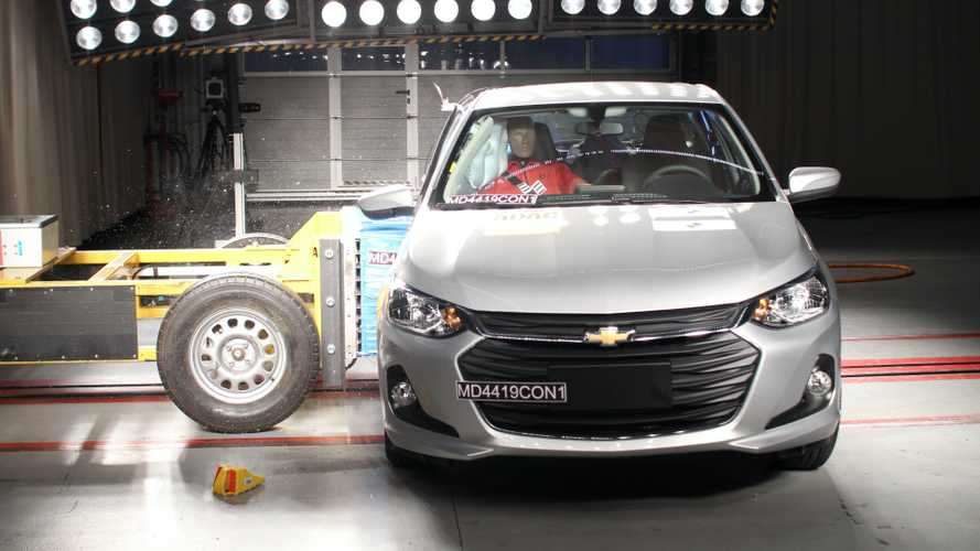 Novo Onix Hatch 2020 alcança nota máxima em segurança pelo Latin NCAP