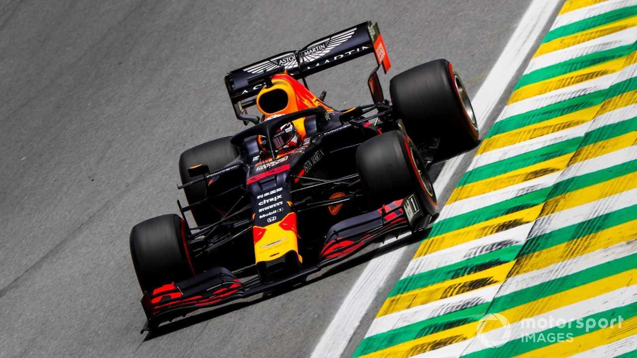 Max Verstappen at Brazilian GP 2019