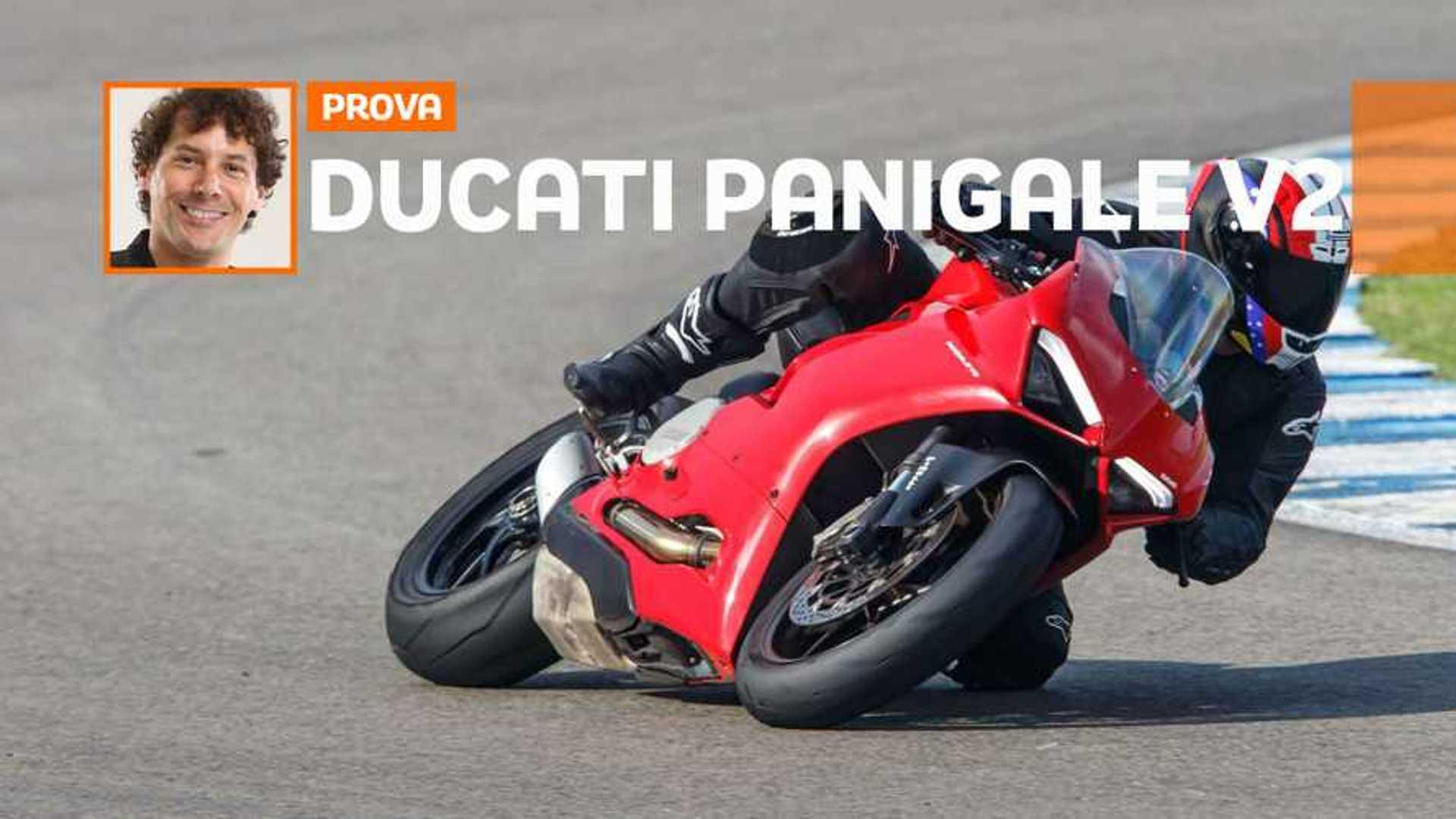 Ducati Panigale V2 – TEST