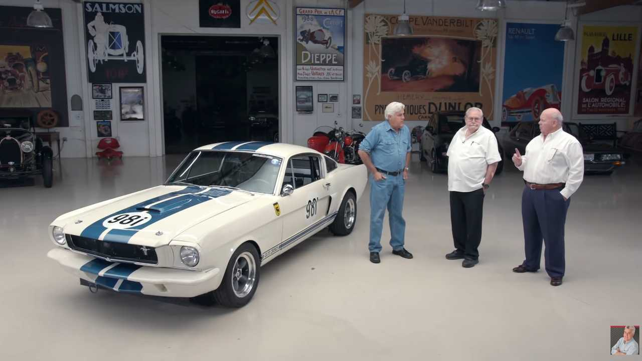 Video: 1965 Shelby GT350R By Original Venice Crew Visits Jay Leno