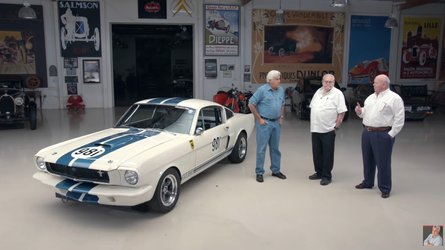 Video 1965 shelby gt350r by original venice crew visits jay leno
