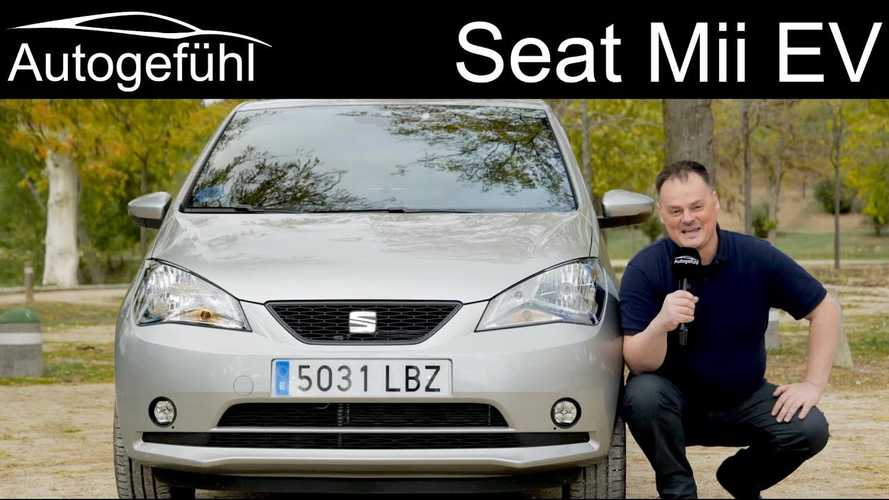 In-Depth Review of SEAT Mii Electric By Autogefühl: Video