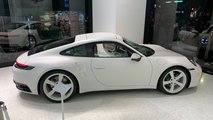 Crystal-Etched Porsche 911 By Daniel Arsham