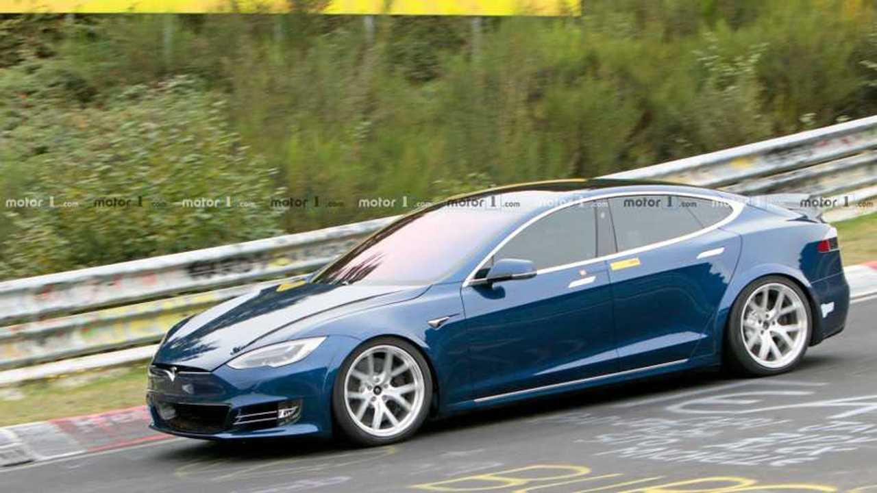 Prototype Plaid Tesla Model S