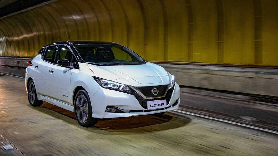Nissan Leaf é eleito o melhor elétrico pelo UOL Carros, com participação do Motor1.com