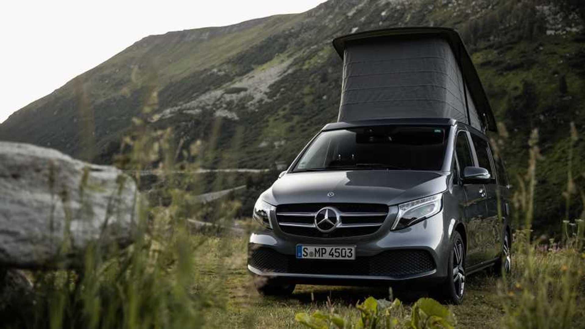 Mercedes a Parma, anteprima del nuovo Marco Polo Horizon