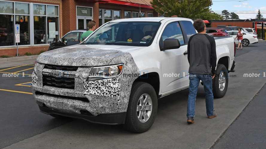 2021 Chevrolet Colorado Spy Photo | Motor1.com Photos