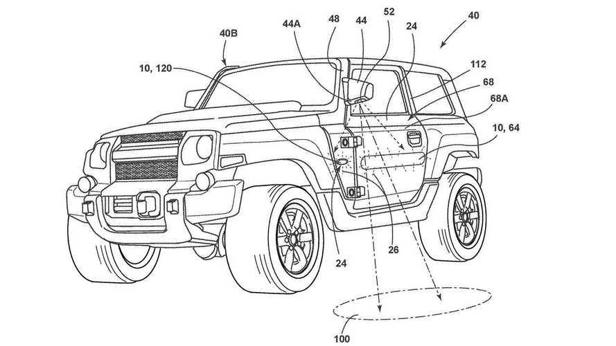 Yeni Ford Bronco'nun yeni bir patent görüntüsü ortaya çıktı
