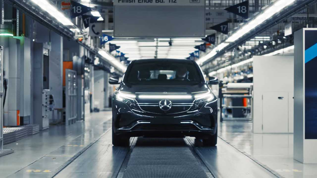 Mercedes-Benz EQC production