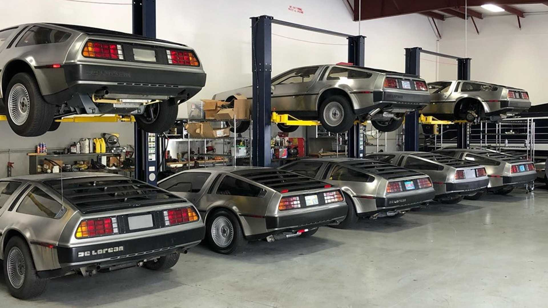 "[""Dozens Of DeLoreans Hiding From Hurricane Dorian In Storage""]"