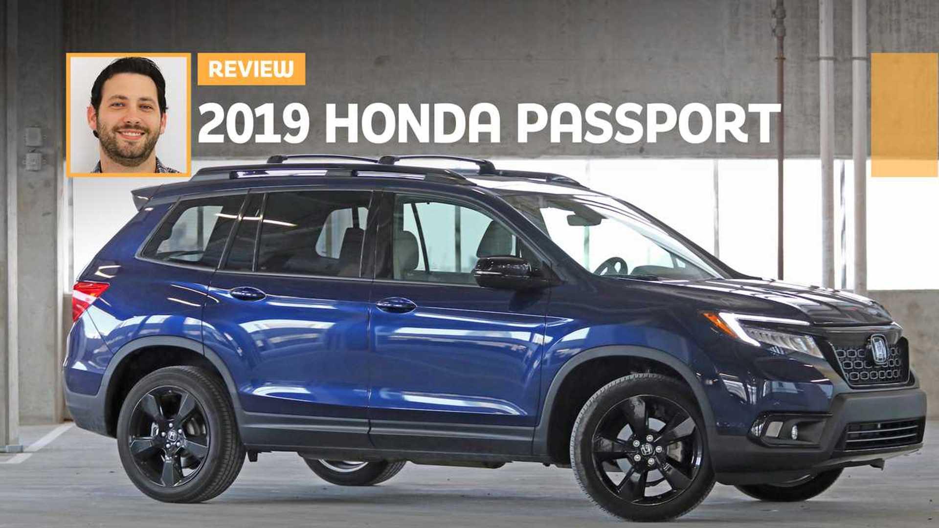 2019 Honda Passport Elite Review: Stamp Here