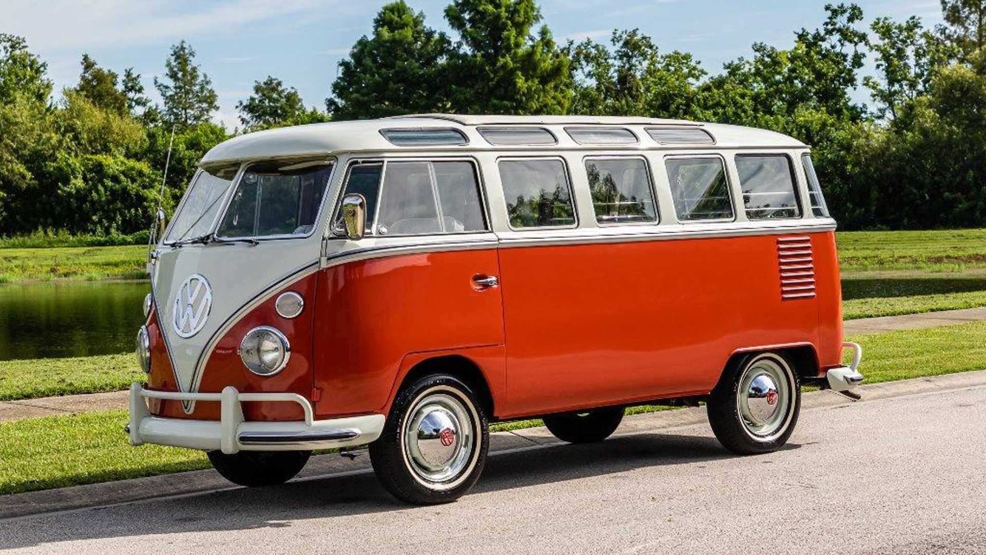 "[""Get Blasted To The Past In A 1963 Volkswagen Bus""]"