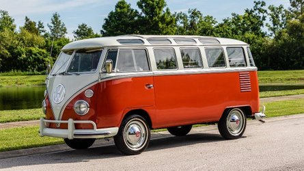 Get blasted to the past in a 1963 volkswagen bus