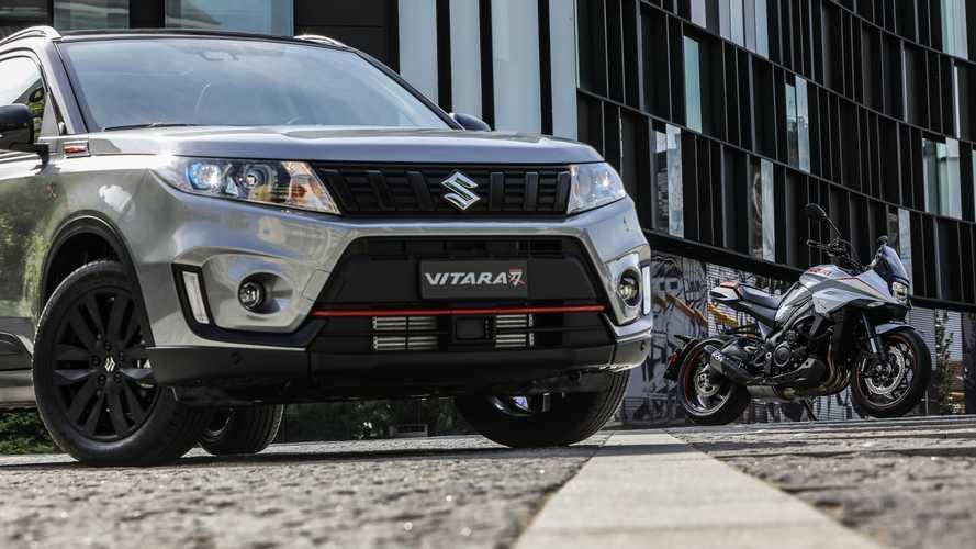 "Suzuki Vitara Katana, il SUV che si ""crede"" una 2 ruote"