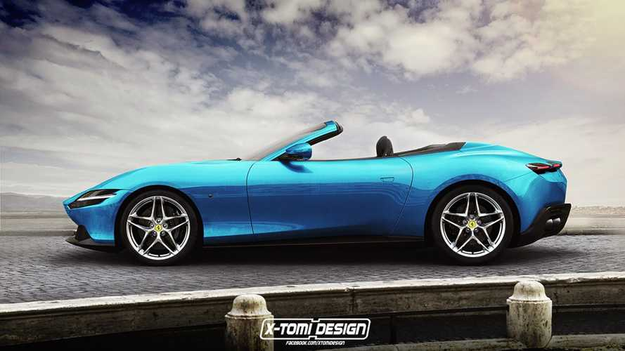 Ferrari Roma Shooting Brake y Cabrio, recreaciones de X-Tomi Design