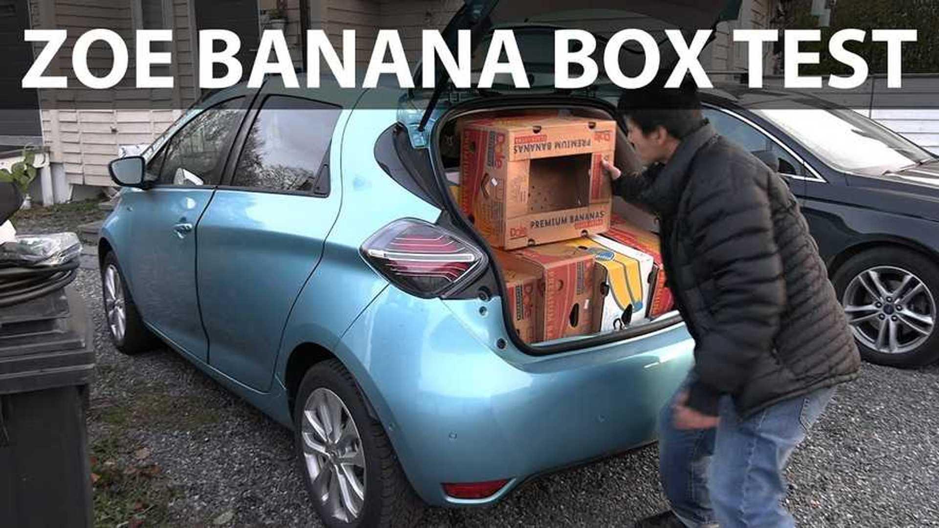 Renault Zoe Test >> New Renault Zoe Matches Tesla Model 3 In Banana Box Test