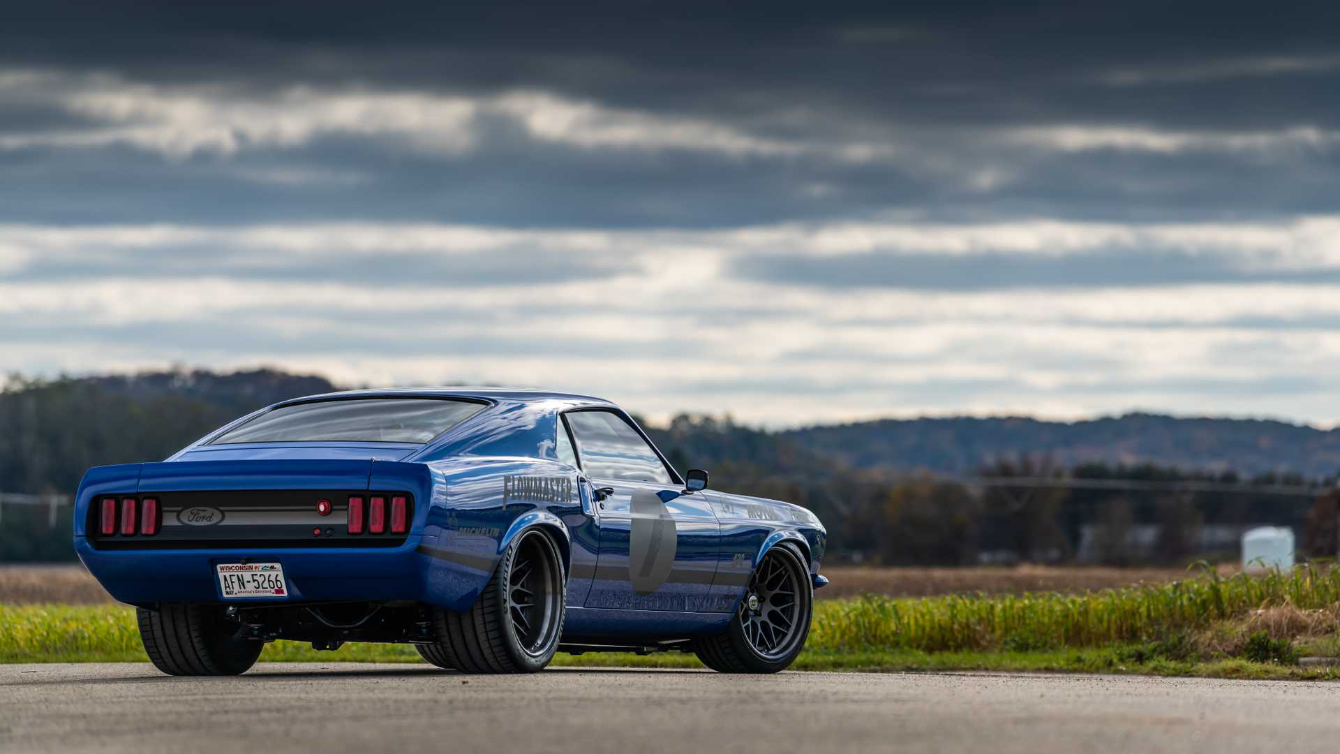 "[""Ringbrothers Uses A 1969 Ford Mustang Mach 1 To Create UNKL""]"