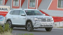 Volkswagen Atlas Facelift Spy Photos