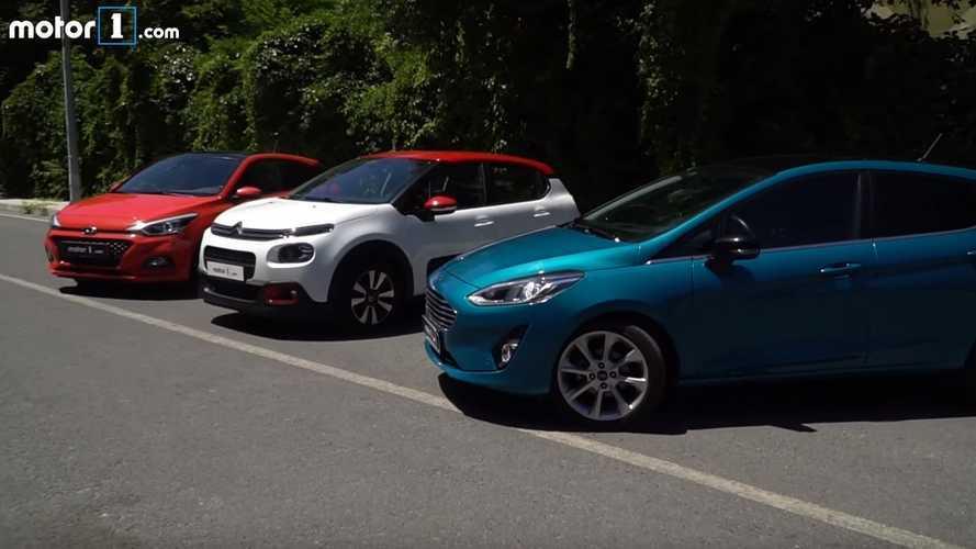 Karşı Karşıya: Hyundai i20 vs Citroen C3 vs Ford Fiesta