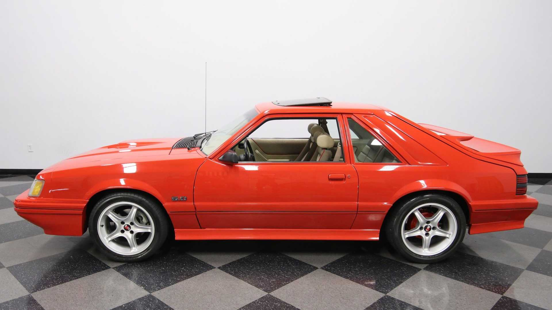 "[""1985 Ford Mustang GT Is An SVO Clone""]"