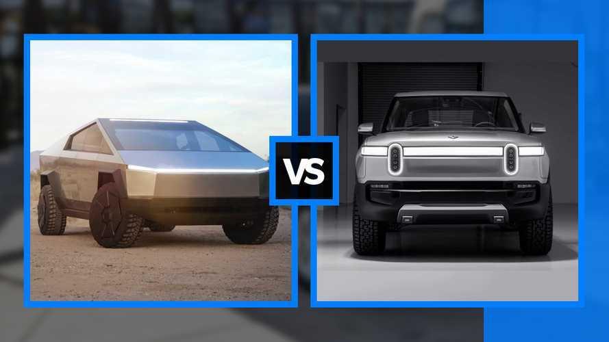 Tesla Cybertruck vs Rivian R1T - Le match !