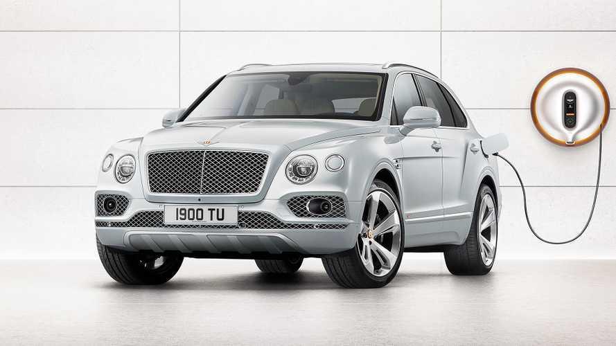 Bentley Bentayga Hybrid, la prima di tante elettrificate