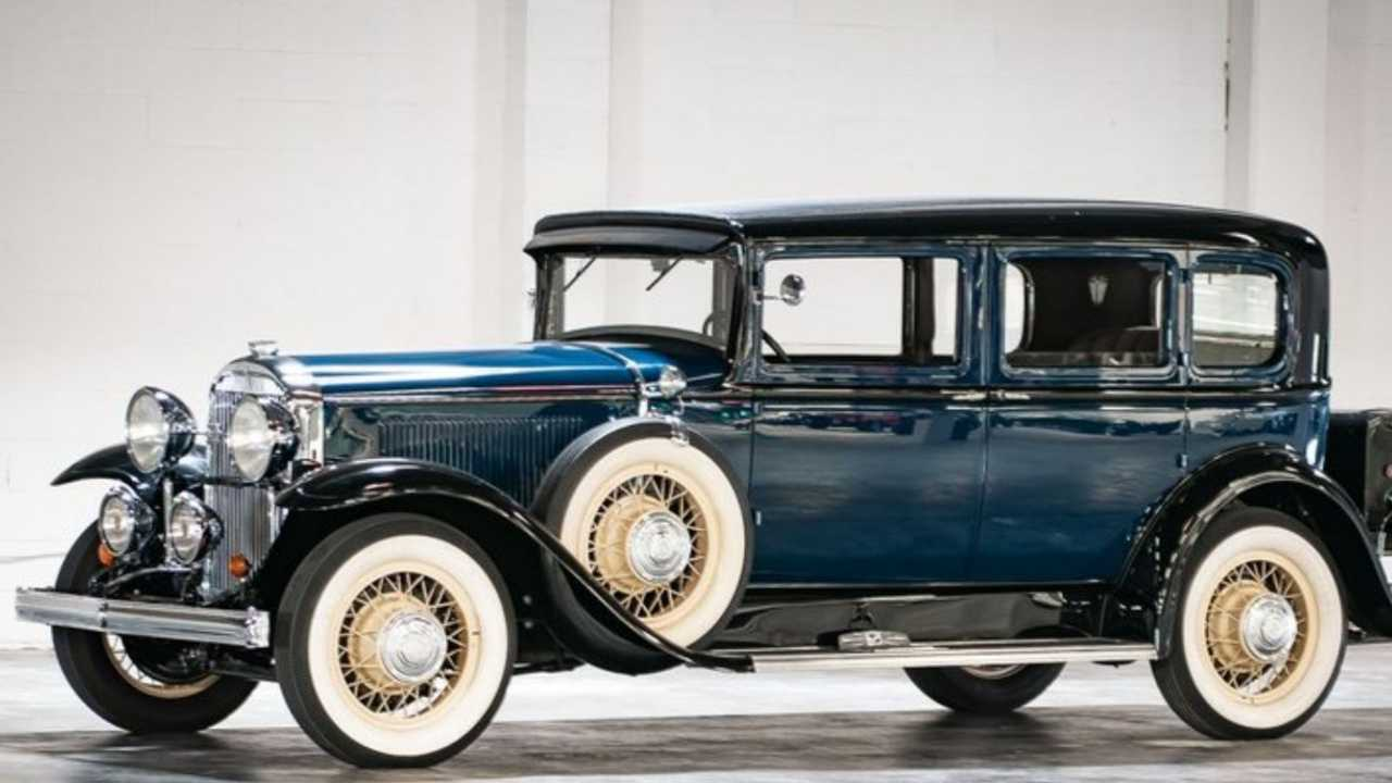 1931 Buick 91 Shows Timeless Elegance