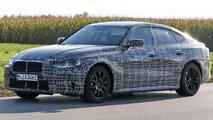 BMW i4 Erlkönig zeigt sich näher an der Serie