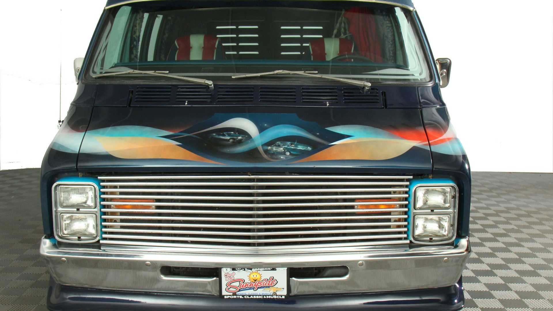 """[""""Get Funky In This 1974 Dodge Tradesman""""]"""