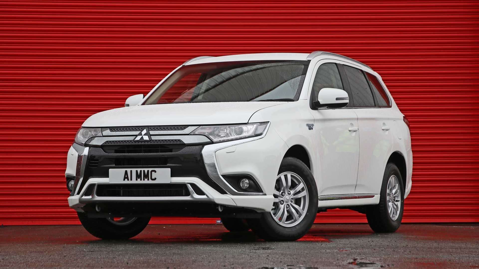 Businesses can buy an Outlander PHEV van for just over £24,000