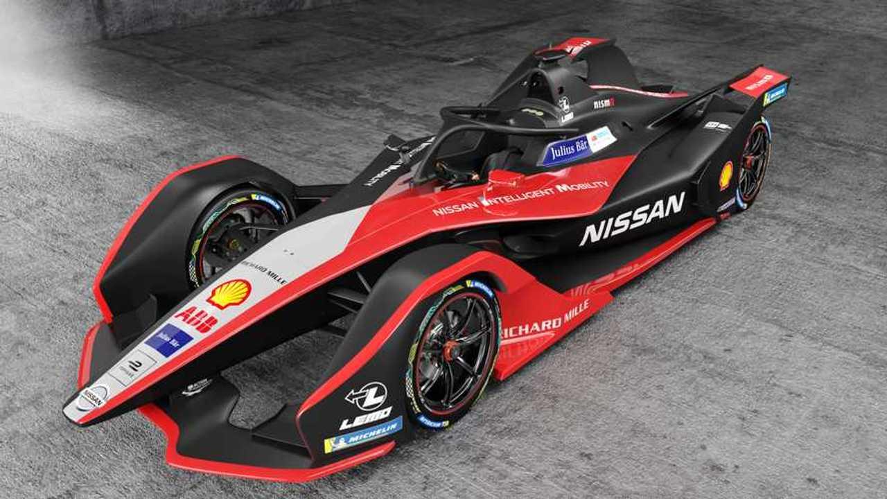 Carro elétrico da Nissan na FE