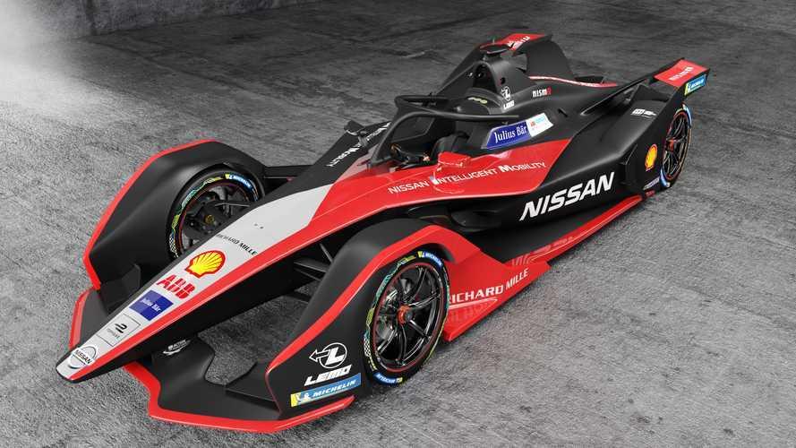 Carro de elétrico de Fórmula E da Nissan ganha novo visual