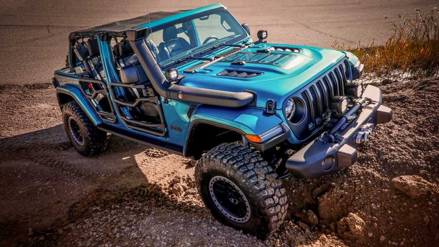 Jeep Wrangler Heading To SEMA With Rad Mopar Upgrades