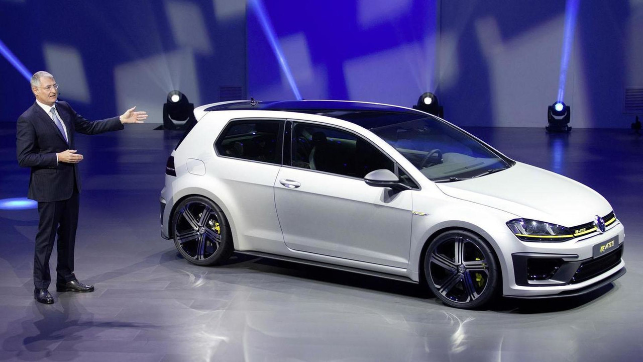 vw golf r plus allegedly in the works with nearly 400 hp. Black Bedroom Furniture Sets. Home Design Ideas