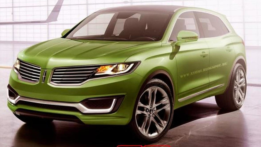 Lincoln MKX concept rendered as production model