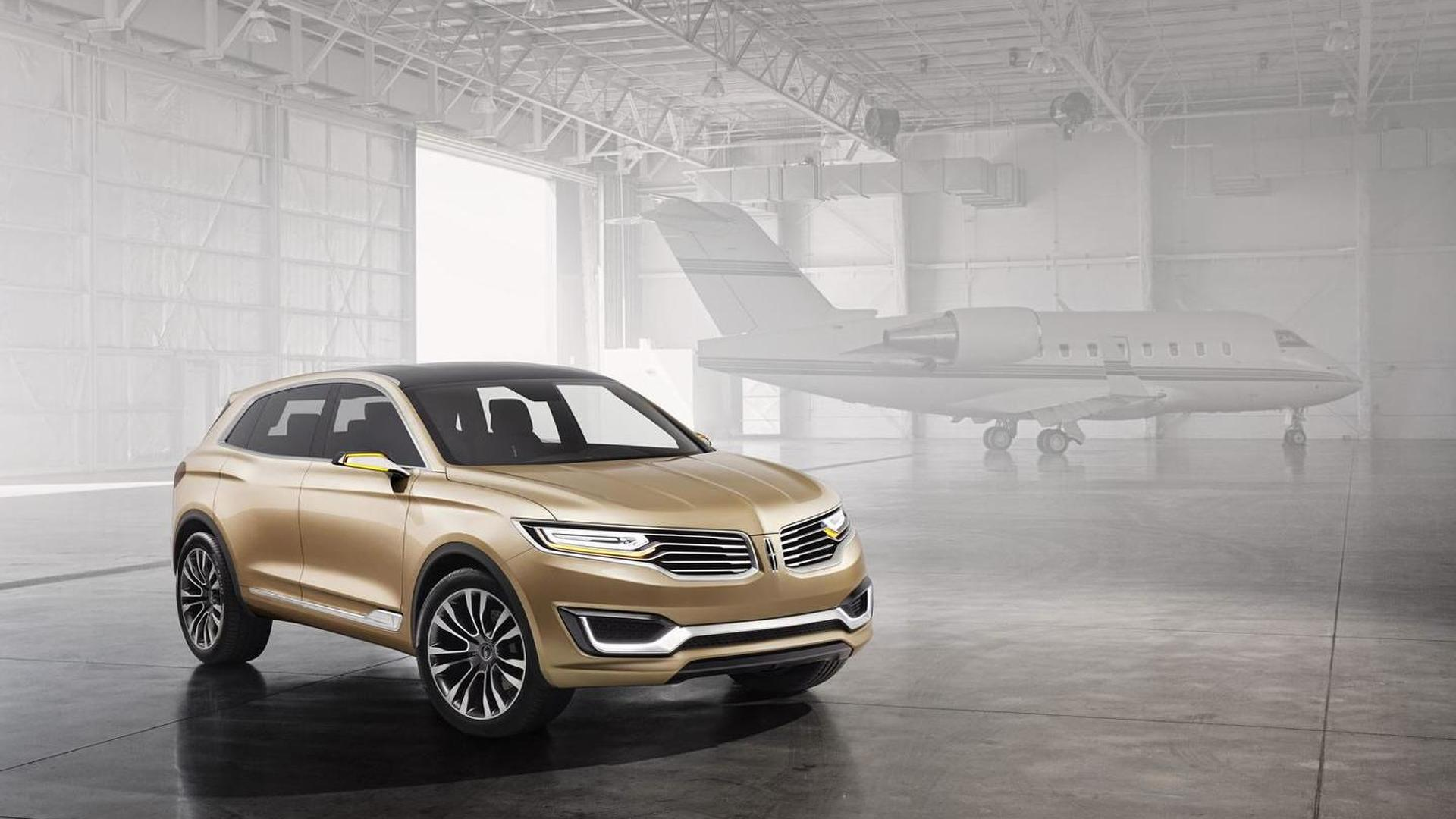 2020 Lincoln Mkx At Beijing Motor Show Picture
