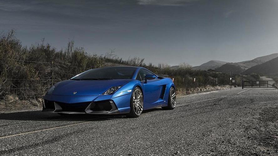 Vorsteiner modestly revises the Lamborghini Gallardo