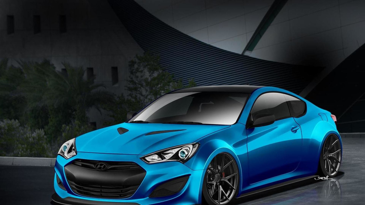 Hyundai JP Edition Genesis Coupe for SEMA 14.10.2013