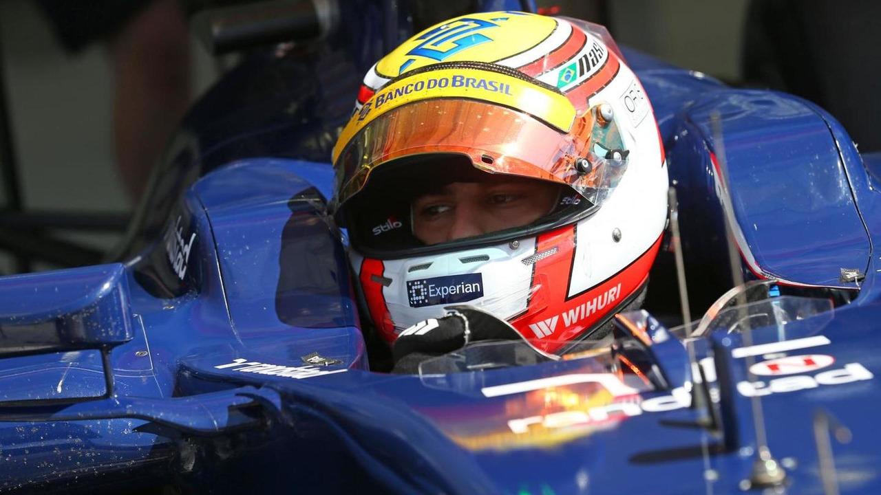 Felipe Nasr 22.02.2014 Formula One Testing Bahrain